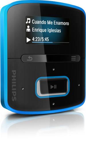 Philips GoGear Raga: простой и компактный MP3-плеер