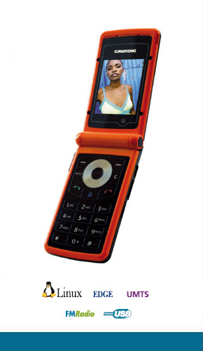 Grundig U900 представляет собой явно мультимедийную модель.  Он оборудован 2-Мп камерой...