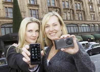 """5-мегапиксельный камерафон с сенсорным управлением LG KU990  """"приземлился..."""
