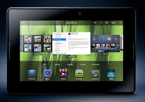 BlackBerry PlayBook: 7-дюймовый планшет на 1 ГГц двухъядерном процессоре и BlackBerry Tablet OS   Blackberryplaybook-lg1