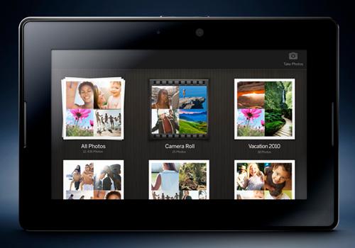 BlackBerry PlayBook: 7-дюймовый планшет на 1 ГГц двухъядерном процессоре и BlackBerry Tablet OS   Blackberryplaybook-lg4