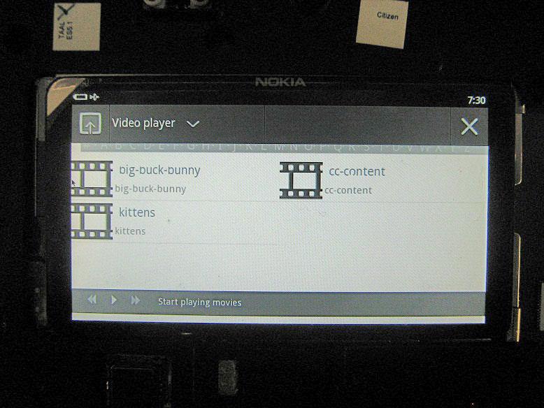 Фотографии и характеристики планшета Nokia с MeeGo