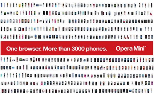 Скачать бесплатно Opera Mini на телефон.  Новая версия Оперы.