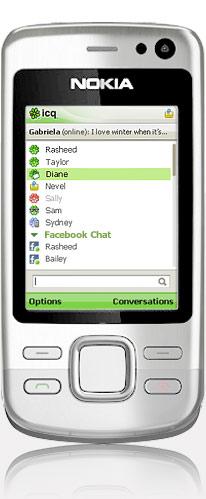 icq телефоне: