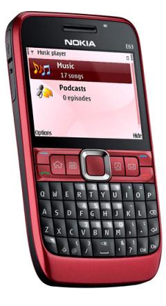 Nokia E63 - Официальный анонс