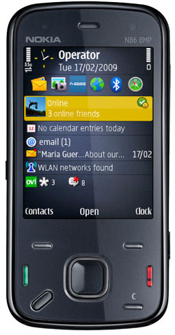 Nokia N86 - официальная информация