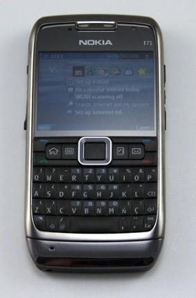 Смартфон Nokia E71: новые фотографии и впечатления