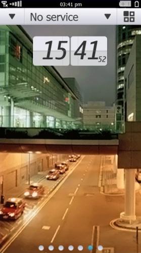 скриншот Symbian^4