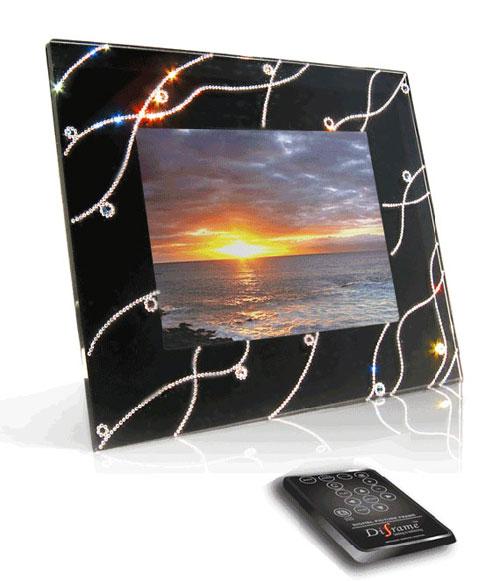 Фотографии цифровой фоторамки Diframe Crystal.