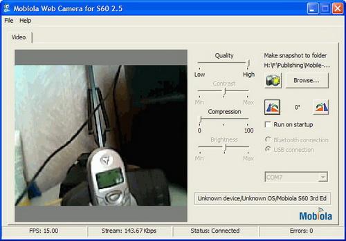 Программу камера телефона как веб камера на компьютер