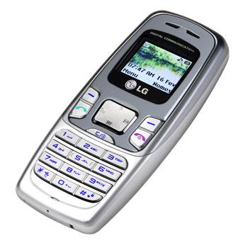 LG MG180 - простой телефон с флипом, одобрен FCC.