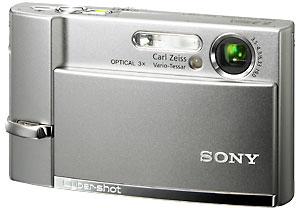 Продам в Воркуте фотоаппарат Sony DSC-T50 в отличном состоянии.