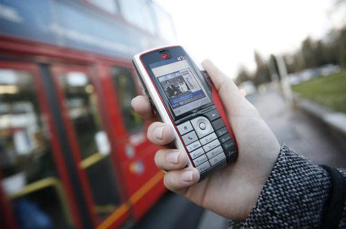 Мобильный интернет поможет узнать информацию о ближайшем автобусном рейсе.